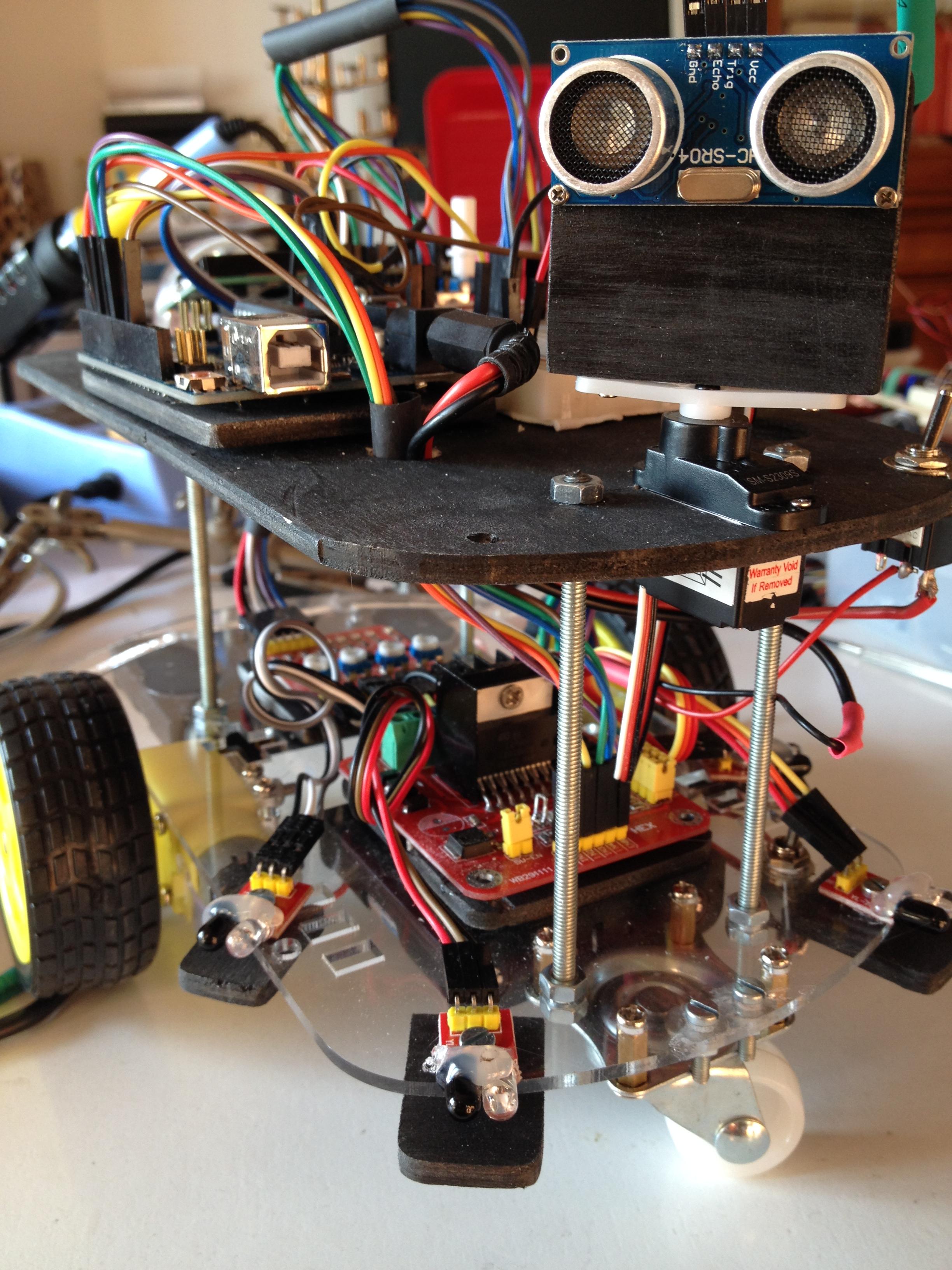 Robot arduino elettronica design lab