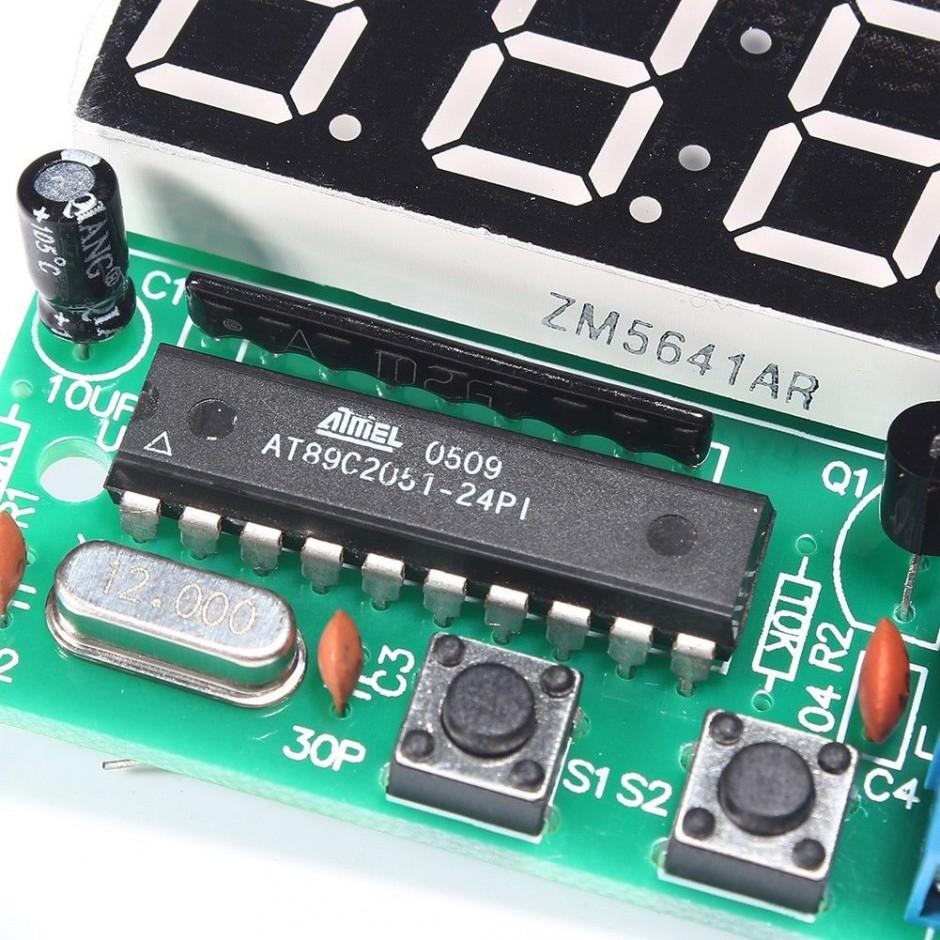 Kit elettronico per orologio digitale 0lab