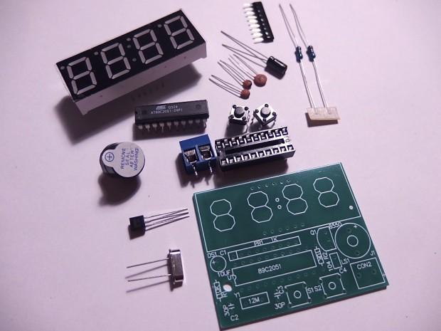 Kit elettronico per orologio digitale