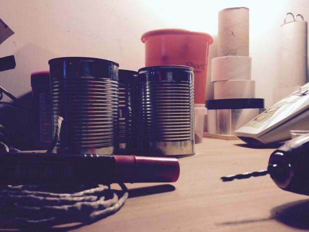 Come fare portacandele fai da te con barattoli di latta| DIY Casa