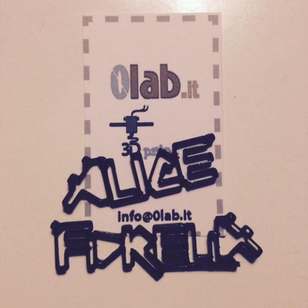 Stampa 3D Napoli Caserta 0lab