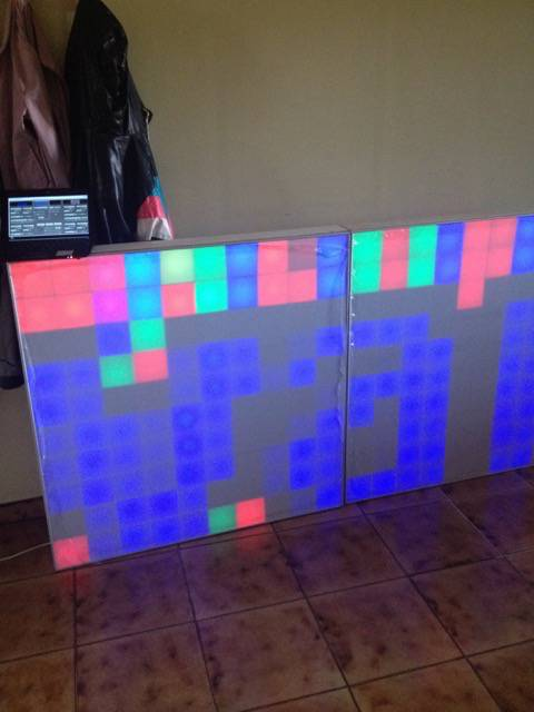 Test led matrix